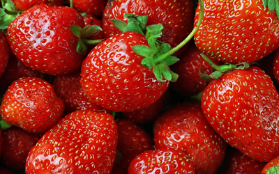 Réutiliser les queues de fraises : les recettes du sirop et de la gelée